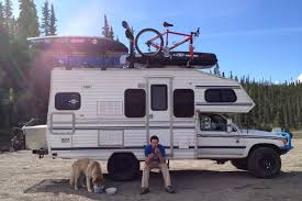 toyota motorhome 4x4 mag living in a van down by the river