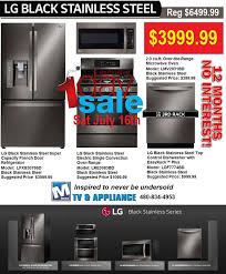 Kitchen Appliances Packages - lg black stainless steel appliance sale chandler az