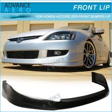 2005 honda accord coupe parts for 03 05 honda accord 2dr coupe front bumper lip spoiler hfp