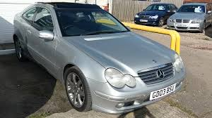 used mercedes c class used mercedes c class c220 cdi silver 2 1 coupe newport south