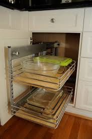 Kitchen Cabinets Slide Out Shelves by Corner Kitchen Cabinet Storage Ideas Tehranway Decoration