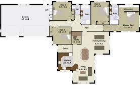 4 bhk home design craftsman style house plan beds baths sqft