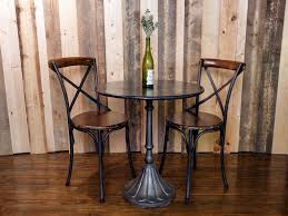 bistro table set indoor wooden bistro table set for dining room