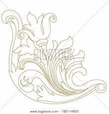 vintage ornament pattern border ornament pattern engraving