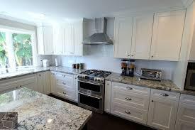 custom white kitchen cabinets contemporary u shaped kitchen remodel with white custom cabinets