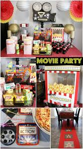movie night party ideas movie party decorations movie party and