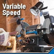 delta power tools 23 197 8 inch variable speed bench grinder
