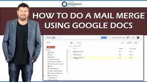 How To Use Google Spreadsheet As Database How To Do A Mail Merge Using Google Docs Youtube
