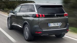 peugeot 5008 trunk peugeot 5008 gt 2017 wallpapers and hd images car pixel