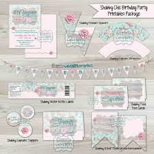 Shabby Chic Invites by 49 Best Shabby Chic Birthday Party Ideas Images On Pinterest