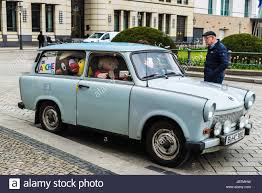 trabant berlin germany april 12 2017 car of trabant brand with its