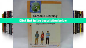 ebook carnegie learning math series course 2 student skills