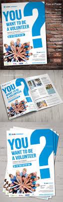 volunteer brochure template 8 volunteer flyer printable psd ai vector eps format