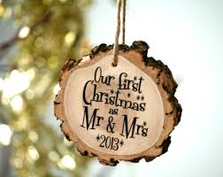 ornaments newlywed ornament our