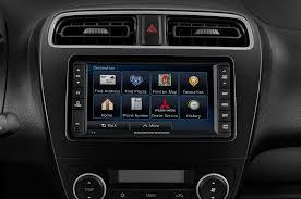 mirage mitsubishi 2015 2015 mitsubishi mirage radio interior photo automotive com