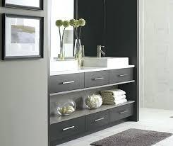 bathroom cabinet drawers modern bathroom vanity in walnut smokey