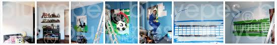 sports mural ideas wall murals you ll love 28 sports murals for bedrooms mural in little boys