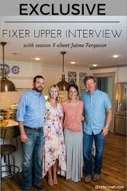 Joanna Gaines Magazine Exclusive Interview With Fixer Upper Client Jaime Ferguson