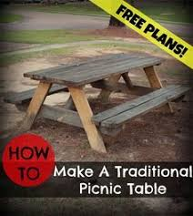How To Build A Hexagon Picnic Table With Pictures Wikihow by 8 Best Picnic Table Images On Pinterest Gardens Woodworking