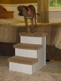 how to make dog stair for bed puppy stairs pet steps and ramps