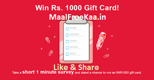 how to win gift cards take survey win free gift card rs 1000 free sles daily free