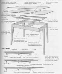 dutch pull out table draw leaf tables dutch pull outs too more about how they work