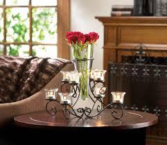 white bejeweled standing candelabra candle holder best decor com