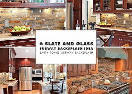 slate kitchen backsplash kitchen tile backsplash images slate mosaic brown rusty kitchen