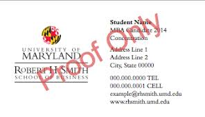 student business card student business cards masters programs office