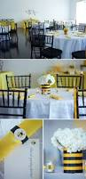 bumble bee themed gender reveal party the celebration society