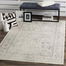 reynolds ivory silver area rug