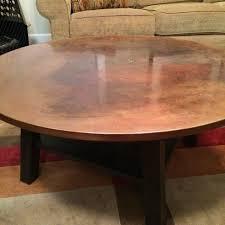 Ethan Allen Tables Copper Top Coffee Table Ethan Allen Table Designs