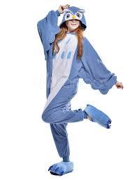 halloween fleece kigurumi pajama owl onesie for fleece flannel animal costume
