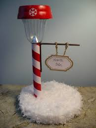 solar lights for craft projects make a north pole street light dollar store crafts