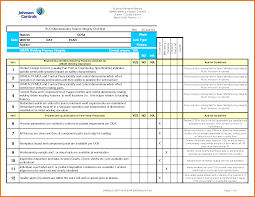 Scope Of Work Template Excel Excel Checklist Template 88840288 Png Scope Of Work Template
