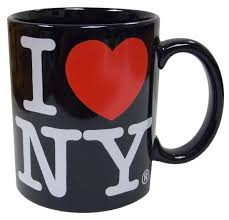 amazon com i love ny mug white ceramic 11 ounce i love ny mugs