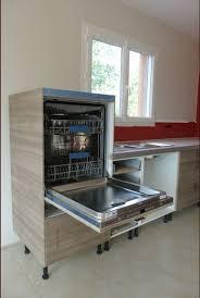 cuisine lave vaisselle en hauteur hauteur lave vaisselle