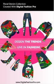 fashion magazine styles created with digital fashion pro