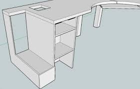 Computer Desk Woodworking Plans Decorative Terrific Computer Desk Woodworking Plans 13 Httpoffice