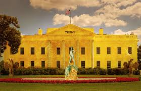 trumps gold house bizarre donald trump white house redesigns surface on reddit