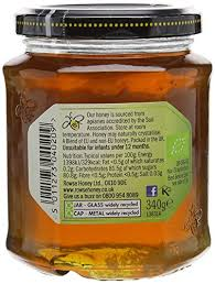 r ultat cap cuisine rowse organic clear honey 340 g pack of 6 amazon co uk grocery