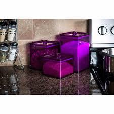 purple kitchen canister sets furniture charming kitchen canister sets for accessories purple