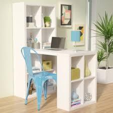 Small Desk With Bookcase Desks You U0027ll Love Wayfair