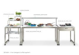 buffet with induction design hotel event catering exclusive