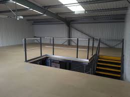 compact mezzanine floor office design office mezzanine floor