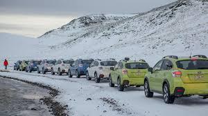 subaru outback snow bbc autos subaru versus the volcano