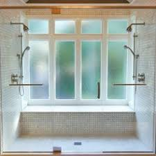 Solution To The Large Window IN The Shower Simple DIY Cover - Bathroom window designs