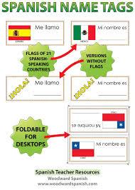 spanish speaking countries bundle woodward spanish