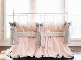 baby bedding pink and grey crib bedding set baby
