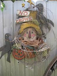 Halloween Wood Craft Patterns - wood craft halloween scarecrow crow wreath pattern 241